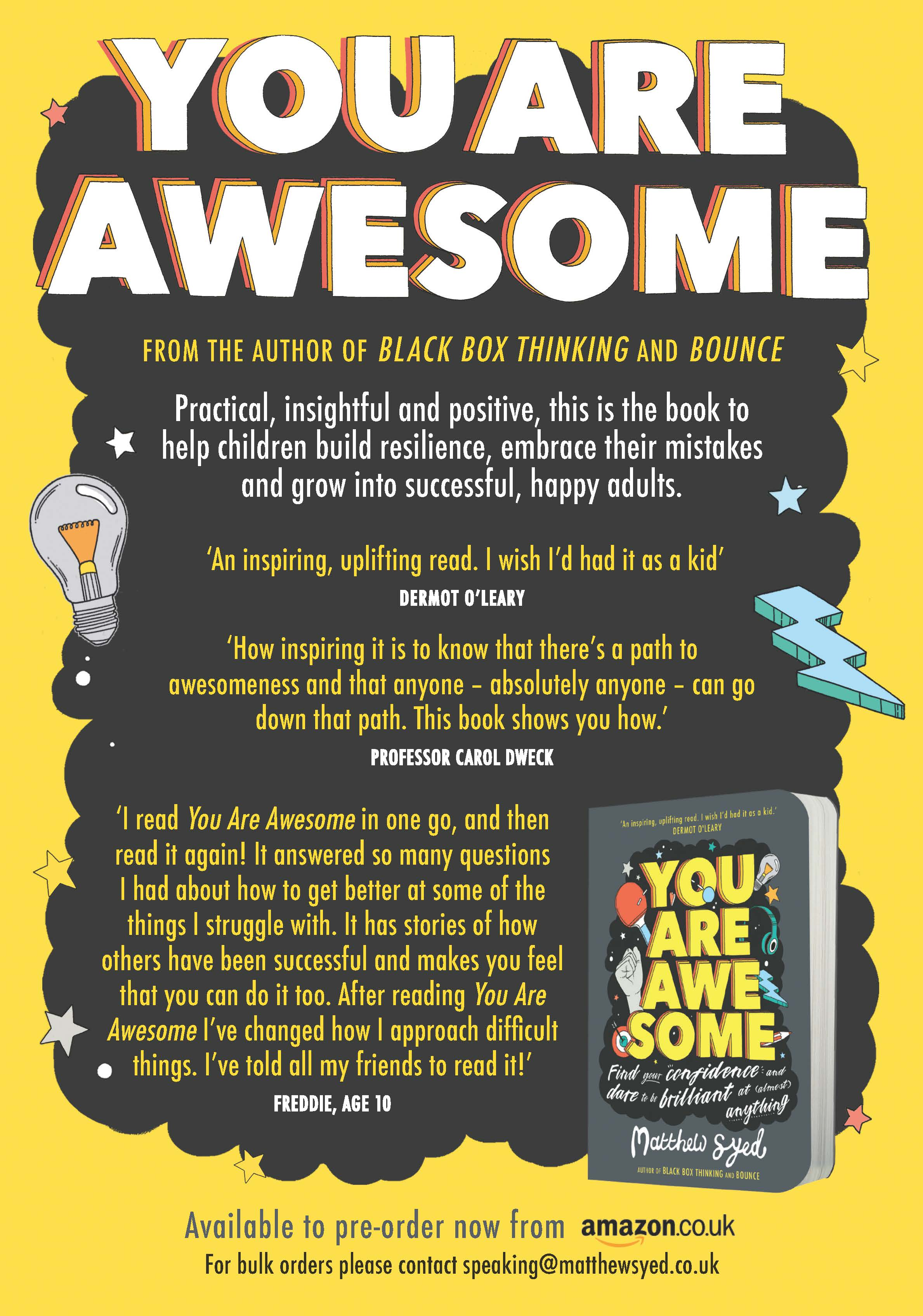 You Are Awesome - Available to pre-order now