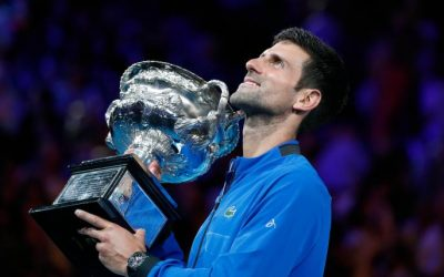 Novak Djokovic's relentless pursuit of perfection will take him past Roger Federer's grand-slam record