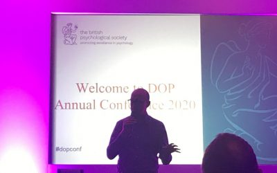 Matthew Syed Consulting at the British Psychological Society 2020 Conference
