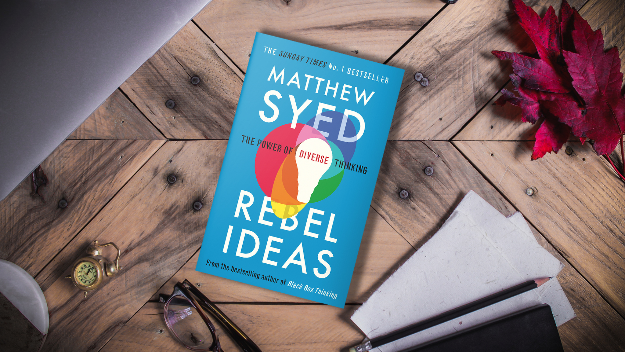 Rebel Ideas – Paperback Book Launch